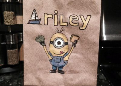 Lunchbag Art - Minion