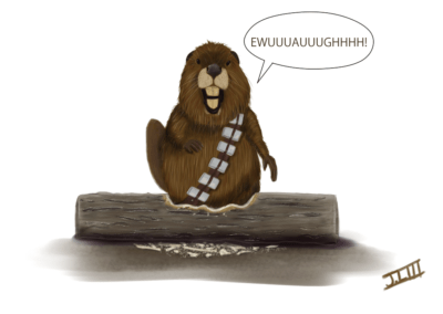 Chewbarka the Beaver