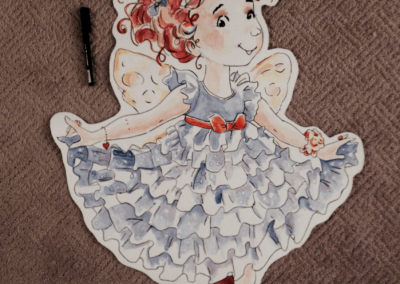 Watercolor - Fancy Nancy