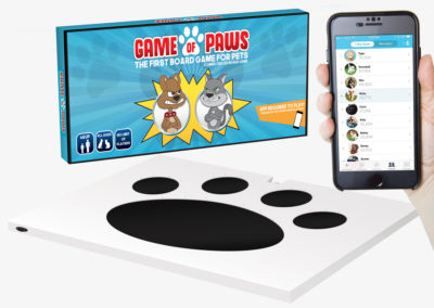 Game of Paws 3D Mockup Overview