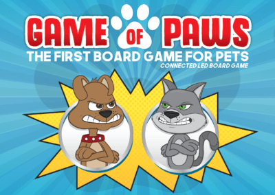 Game of Paws Packaging