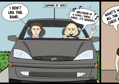 No, Seriously...Blog Post Comic Strip (My Life & Music)