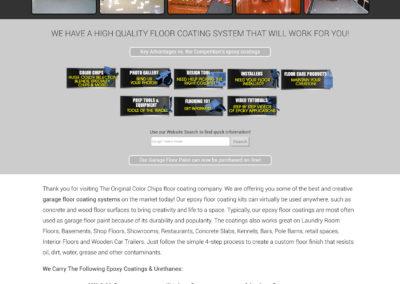Original Color Chips -Website Screenshot