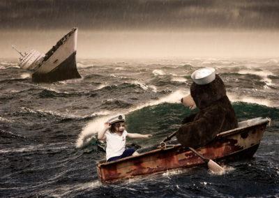 Riley Shipwreck Photo Composite