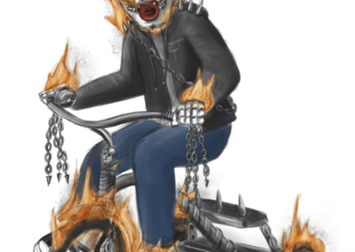 Ghost Rider Toddler