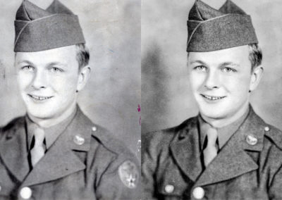 Photo Restoration (Before & After)
