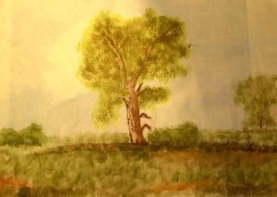 Landscape Watercolor (Year 1995)