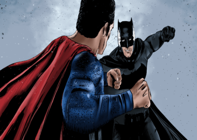 Digital - Batman vs Superman (Color)