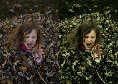 Riley Zombie Composite (Before & After)