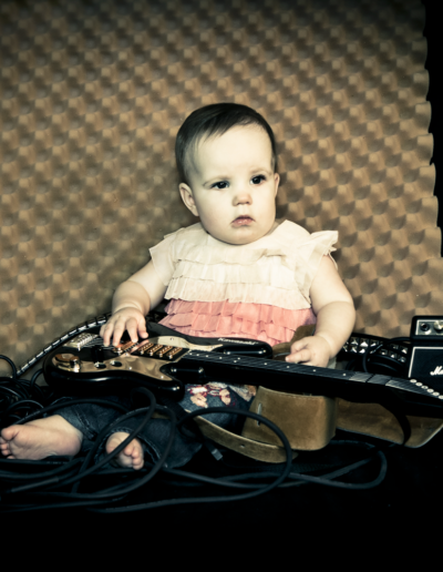 10-Month Old Rocker Photo Shoot