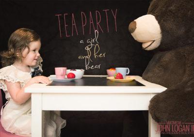 Riley & Fudgie - The Tea Party