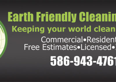 Earth Friendly Cleaning Service
