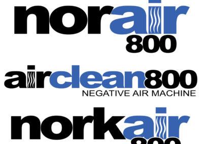 Product Branding Mockups for Norair 800