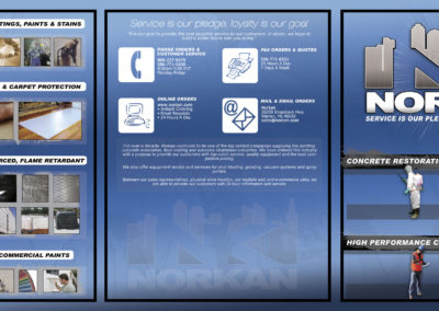 Norkan Trifold Brochure - Outside