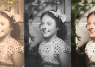 Photo Restoration and Color Add of 1930's Photo