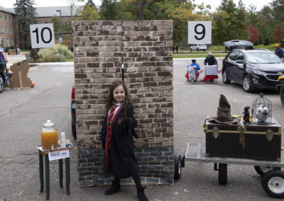 Trunk or Treat (2018) - Harry Potter Theme 9 3/4 Train Station