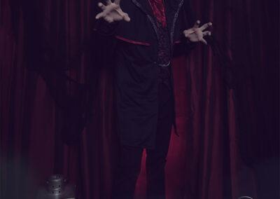 Adult Vampire Halloween Costume Photoshoot